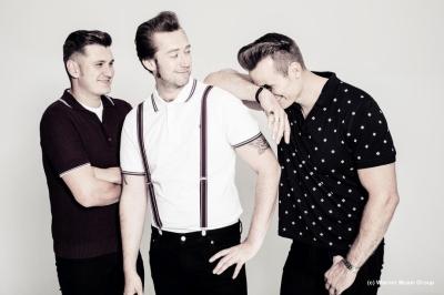 """The Baseballs veröffentlichen ihr neues Album """"Hit Me Baby..."""" (Quelle: Warner Music Group)"""