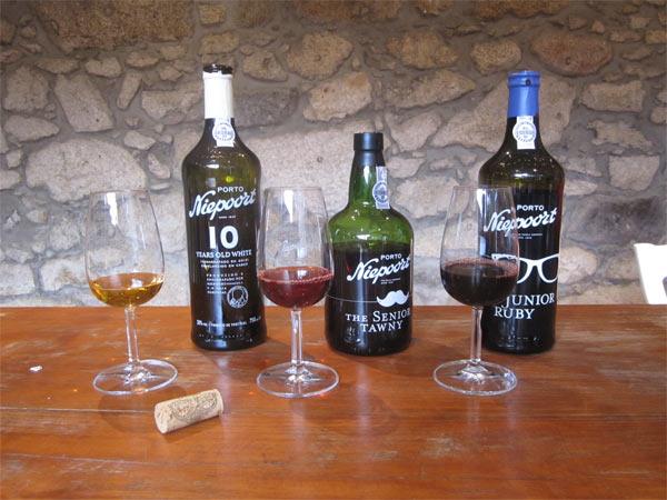 Portweinprobe im Hause Niepoort.