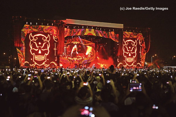 The Rolling Stones live in Havanna, Kuba. (c) Joe Raedle/Getty Images