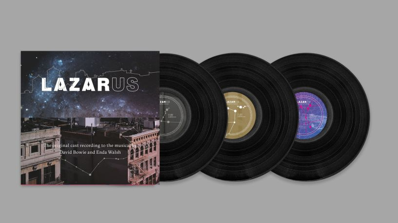 Lazarus Cast Album. Quelle: Sony Music
