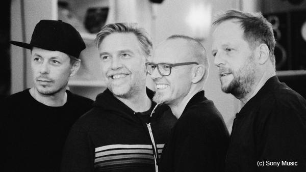 Die Supersense Block Party der Fantastischen Vier. Quelle: Sony Music