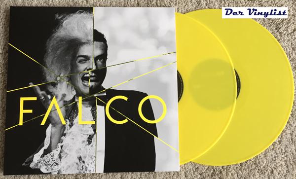 Falco 60 als farbiges Doppel-Vinyl. Foto: Enwie Kej
