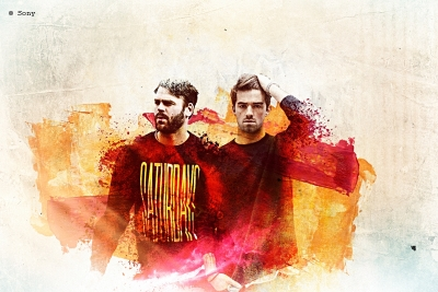 The Chainsmokers. (c) Sony
