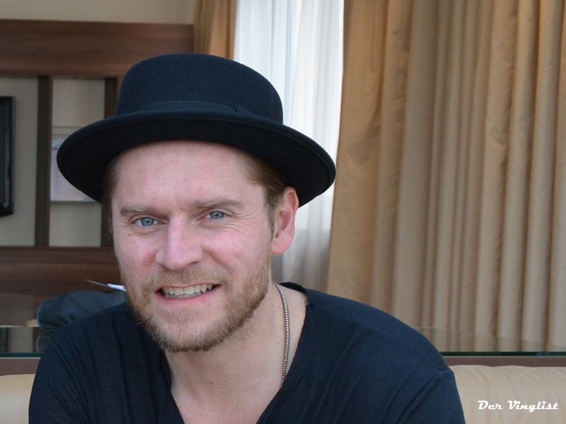 Johannes Oerding im Interview. (c) dervinylist.com
