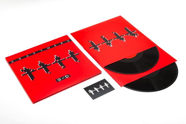 Kraftwerk Doppel-Vinyl Packshot.