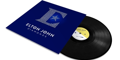 "Die neu Elton-John-Vinyl ""Diamonds"". (c) Mercury"