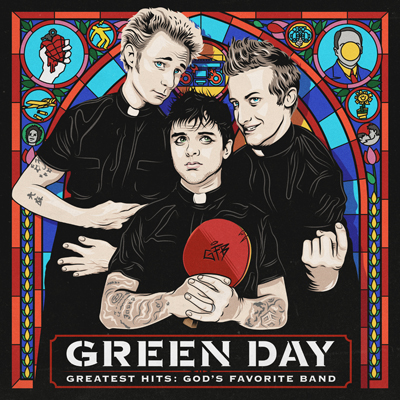GREEN DAY Greatest Hits: God`s Favourite Band. (c) Warner Music