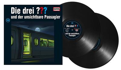 Die Drei ??? - Folge 189 auf Vinyl. Packshot: Sony Music
