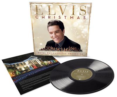 Christmas Songs von Elvis und dem RPO. Packshot: Sony Music