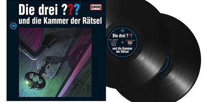 Die Drei ??? - Folge 190 auf Vinyl. Packshot: Sony Music
