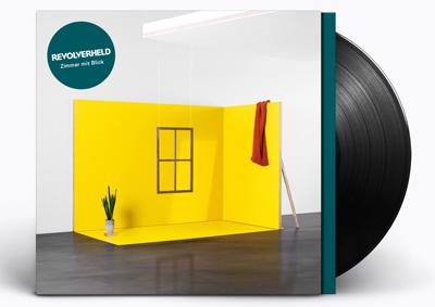 """""""Zimmer mit Blick"""" heißt die neue LP von Revolverheld. (c) SonyMusic"""