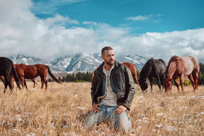 "Justin Timberlake ist der ""Man Of The Woods"". (c) Sony Music"