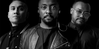 Die Black Eyed Peas mit politischem Statement. (c) Christopher Parsons
