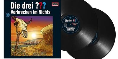 Die Drei ??? - Folge 191 auf Vinyl. Packshot: Sony Music