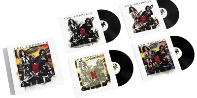 Led Zeppelin remastern Kult Vinyl zum 50. Jubiläum. (c) Warner Music