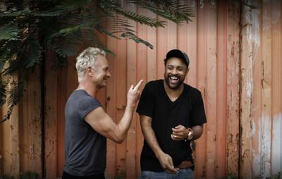 Sting und Shaggy haben Spaß auf Jamaika. (c) Universal Music