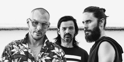 Thirty Seconds To Mars kommen nach Deutschland. (c) Universal Music