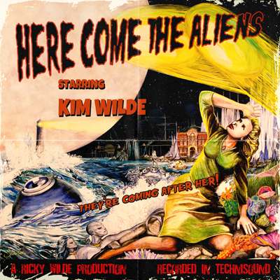 Kim Wilde - Here Come The Aliens Cover. (c) EarMusic