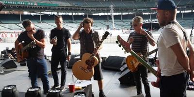Pearl Jam kündigen ein neues Album an. (c) Universal Music