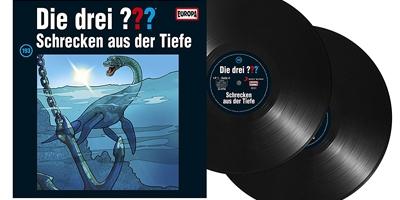 Die Drei ??? - Folge 193 auf Vinyl. Packshot: Sony Music