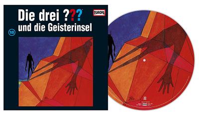 Folge Nummer 18 erscheint als Picture Vinyl. Packshot: Sony Music