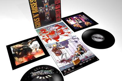 Guns N`Roses remastern ihr Meisterwerk. Packshot: Geffen
