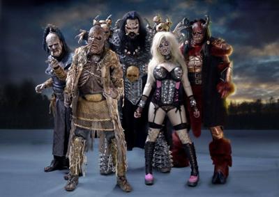 Die finnischen Monster-Rocker von Lordi kommen nach Deutschland. Foto: Soulfood Music