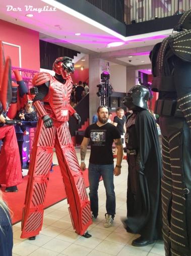 Darsteller in voller Kostümierung. Foto: Andi Wand