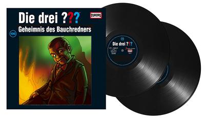 Die Drei Fragezeichen ??? - Folge 196 auf Vinyl. Packshot: Sony Music