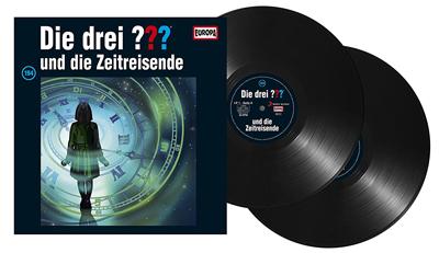 Die Drei Fragezeichen ??? - Folge 194 auf Vinyl. Packshot: Sony Music