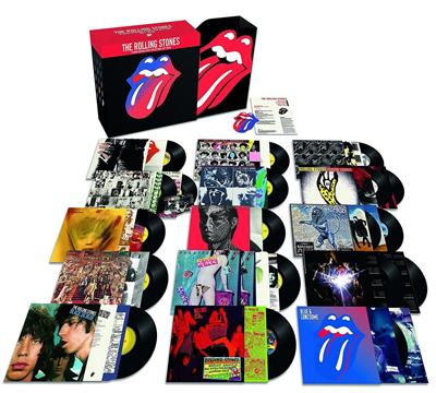 Alle 15 Studioalben der Rolling Stones auf Vinyl. (c) Universal Music