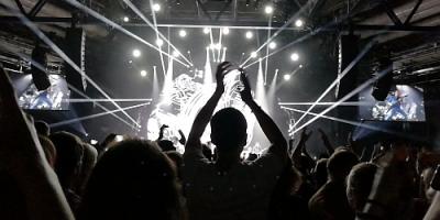 Nickelback 2018 in der Hanns-Martin-Schleyer Halle in Stuttgart. Foto: Marco Pirzer