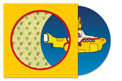 "Yellow Submarine als 7"" Picture Vinyl. (c) Universal Music"