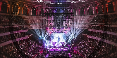 Marillion in der Royal Albert Hall in London. (c) EarMusic