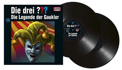 Die Drei Fragezeichen Folge 198 Die Legende der Gaukler. PackShot: Sony Music