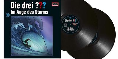 Die Drei Fragezeichen Folge 197 Im Auge des Sturms. PackShot: Sony Music