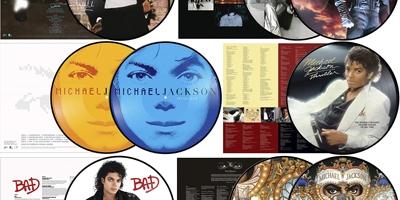 Picture Vinyl zum Geburtstag von Michael Jackson. (M) dervinylist.com