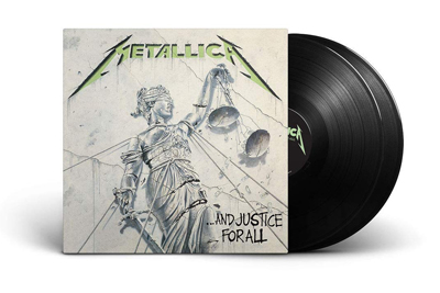 Vinyl Remaster And Justice For All. PackShot: Universal Music