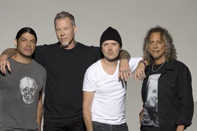 Metallica kommen für 4 Konzerte nach Deutschland. (c) Universal Music