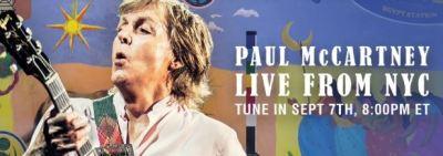 Paul McCartney stellt sein EGYPT STATION im Livestream vor. (c) Youtube