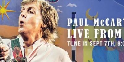 Paul McCartney stellt sein EGYPT STATION im Livestream vor. (c) Youtube
