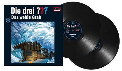 Die Drei Fragezeichen Folge 201 Das weiße Grab. (Montage) dervinylist.com