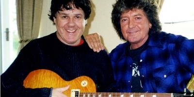 Gary Moore mit Bob Daisley. (c) earMUSIC