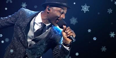 CHRISTMAS FUNK heißt das Weihnachtsalbum von Aloe Blacc. (c) Universal Music
