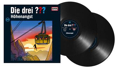 Die Drei Fragezeichen Folge 203 Höhenangst. (Montage) dervinylist.com