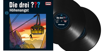 Die Drei Fragezeichen Folge 201 Höhenangst. (Montage) dervinylist.com