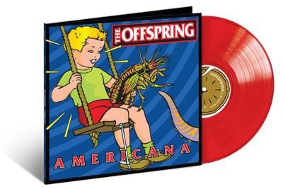 AMERICANA kommt als rotes Vinyl.