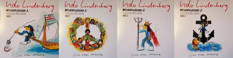Udo Lindenberg MTV Unplugged 2: 4fach Vinyl. (c) Der Vinylist