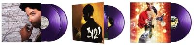 Re-Issue von gleich drei Prince Alben. (M) Der Vinylist