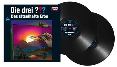 Die Drei Fragezeichen Folge 204 Das rätselhafte Erbe. (Montage) Der Vinylist